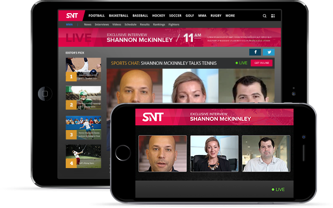 Engage your audience - With Spotlight, you control how fans interact with hosts and celebrities.